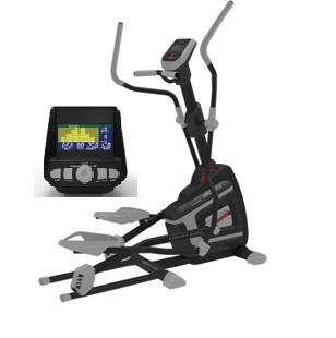 MANTIS eliptický trenažér - 16 tréninkových programů