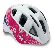 Spokey CHERUB Dětská cyklistická přilba IN-MOULD, 44-54, bílá