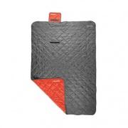 Spokey CANYON Spací pytel 200x140 cm, typ: deka, šedo/červený