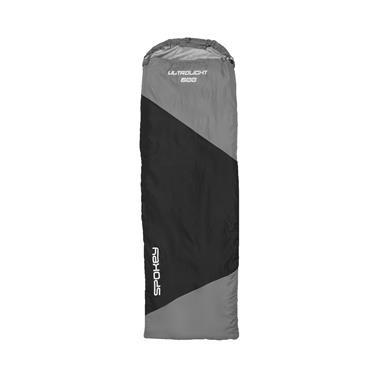 Spokey ULTRALIGHT 600  II spací pytel  černo/šedý, pravé zapínání