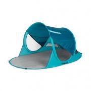 Spokey STRATUS Samorozkládací plážový paravan, UV 40, 190x120x90 cm - modrý