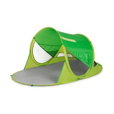 Spokey STRATUS Samorozkládací plážový paravan, UV 40, 190x120x90 cm - zelený