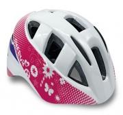 Spokey CHERUB Dětská cyklistická přilba IN-MOULD, 44-48, bílá