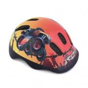 Spokey BAD BOY Dětská cyklistická přilba, 48-52 cm