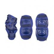 Spokey AEGIS - 3-dílná sada dětských chráničů, tmavě modré, vel. M