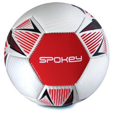 Spokey OVERACT fotbalový míč vel. 5, červený