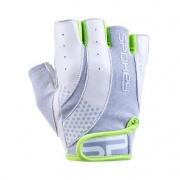 Spokey ZOE II Dámské Fitness rukavice bílo-limetkové vel.L