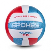 FUN IV volejbalový míč modro-červený