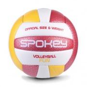 FUN IV volejbalový míč červeno-žlutý