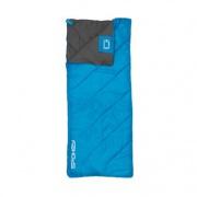 Spokey PACIFIC Spací pytel deka, pravé zapínání - modro-šedý