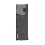 Spokey PACIFIC Spací pytel deka, pravé zapínání - černo-šedý