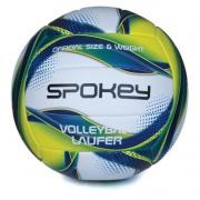 Spokey LAUFER Volejbalový míč bílo-modro-žlutý rozm.5