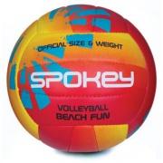Spokey BEACH FUN Volejbalový míč červeno-žlutý č.5