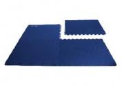 Spokey SCRAB - Podložka puzzle pod fitness vybavení_modrá_4 kusy 61x61 cm