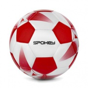Spokey E2018 I Fotbalový míč bílo-červený vel. 5