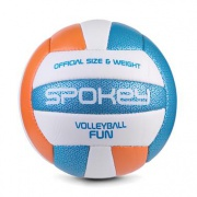 FUN IV volejbalový míč modro-oranžový