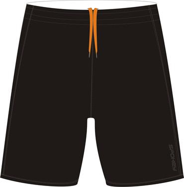 Spokey Fotbalové šortky černé  vel. XXL